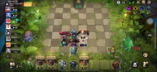 Hình ảnh code auto chess