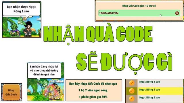 code ngoc rong
