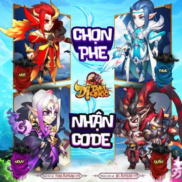 giftcode dị tam quốc