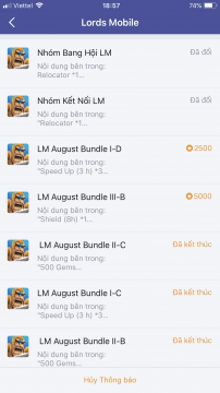 giftcode lords mobile