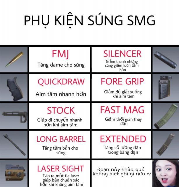 phụ kiện súng SGM codm