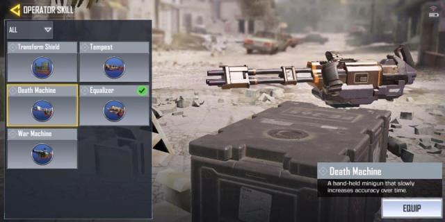 súng máy trong CODM