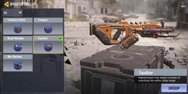 súng phóng lựu trong CODM