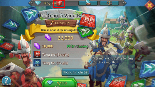 cách đổi gift lord mobile