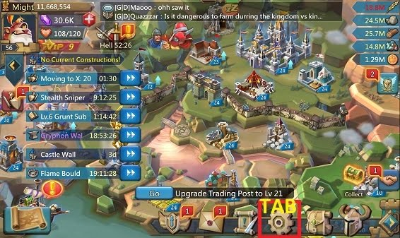 Cách nạp tiền game lords mobile trên iphone ios
