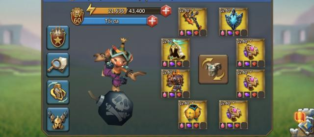 lord mobile set đồ level 40 cho newbie