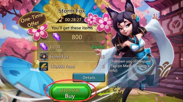 Nạp lord mobile giá rẻ