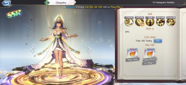 cach choi Cleopatra Goddess of Genesisvi