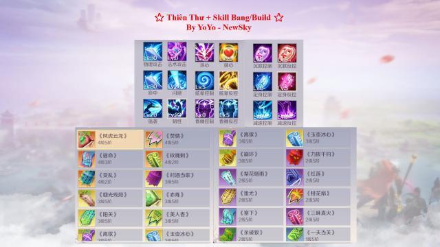 Perfect World Hướng Dẫn Build skill Võ Hiệp - Ma