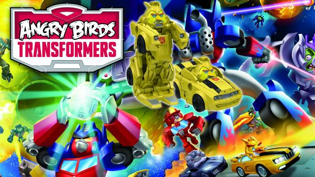 Angry Birds Transformers mod