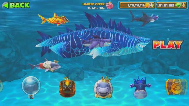 hack Hungry Shark Evolution
