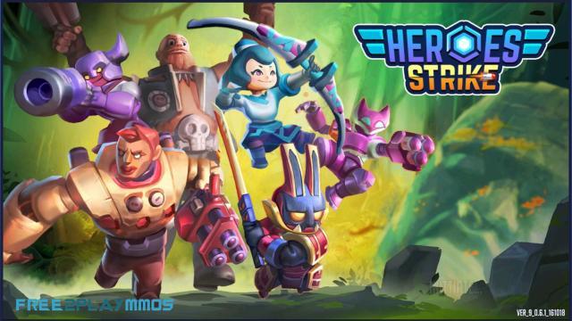 Heroes Strike Offline tiếng việt