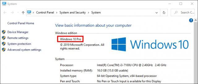 Hướng dẫn active Key windows 10 pro