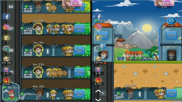 hướng dẫn Idle Miner Tycoon