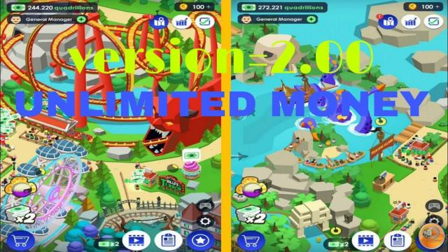 Idle Theme Park Tycoon mod