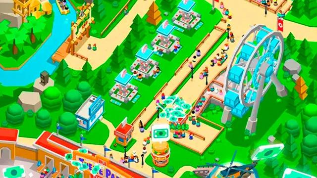 Idle Theme Park Tycoon tiếng việt