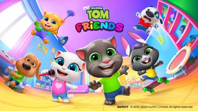 My Talking Tom Friends