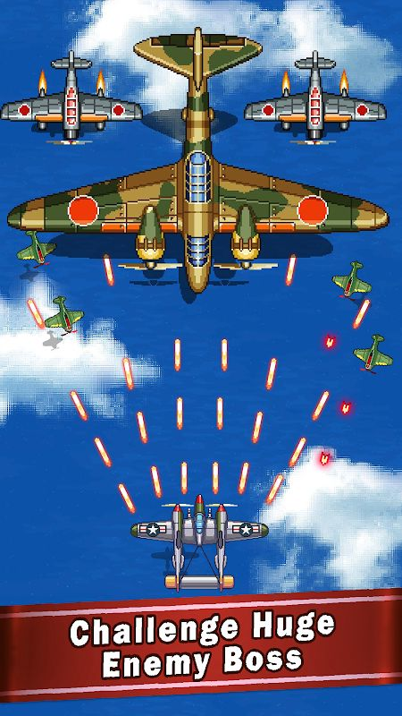 1593683407 122 Tai hack 1945 Air Forces MOD Unlimited Money