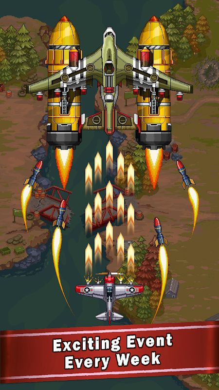 1593683407 24 Tai hack 1945 Air Forces MOD Unlimited Money