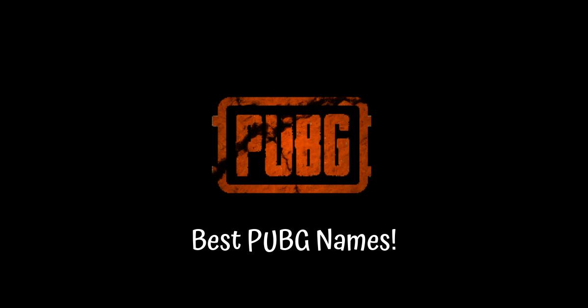 Tên PUBG tốt nhất