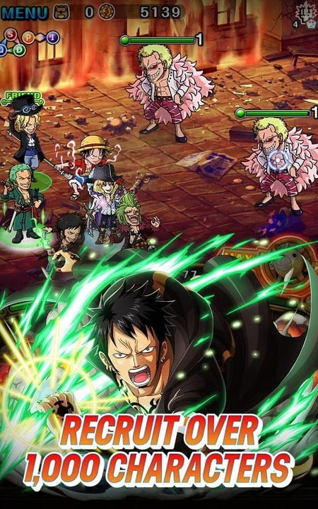 1594402207 238 Tai game ONE PIECE TREASURE CRUISE MOD God Mode1 Hit