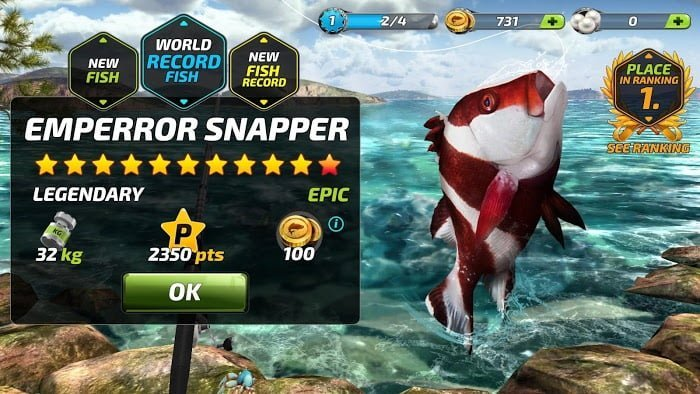 1594736405 231 Tai game Fishing Clash MOD Easy ComboAuto Catch Viet hoa