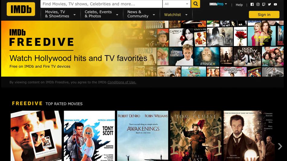 Truyền hình IMDb