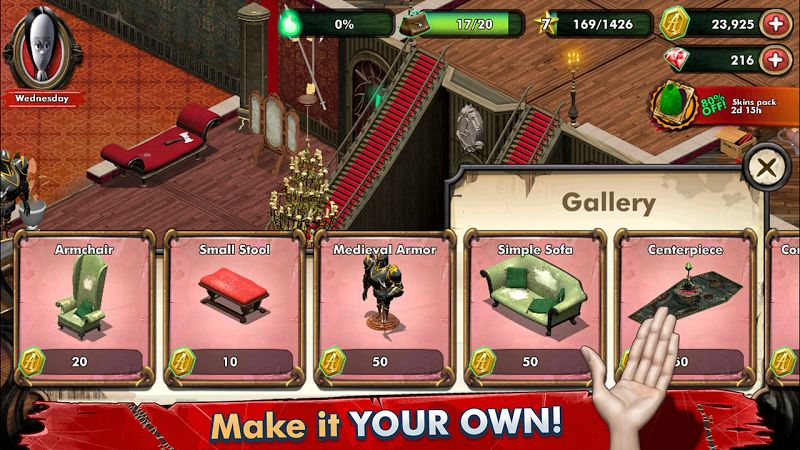 1594806007 464 Tai game The Addams Family – Mystery Mansion MOD Vo