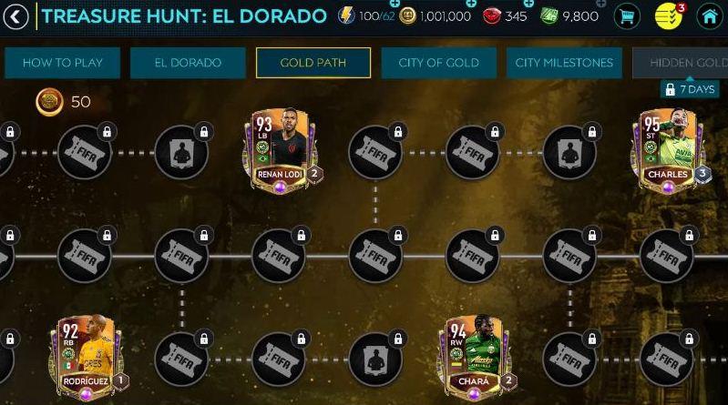 1594993210 246 FIFA Mobile 20 Treasure Hunt El Dorado Guide