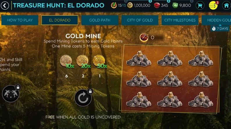Truy tìm kho báu FIFA Mobile 20 El Dorado