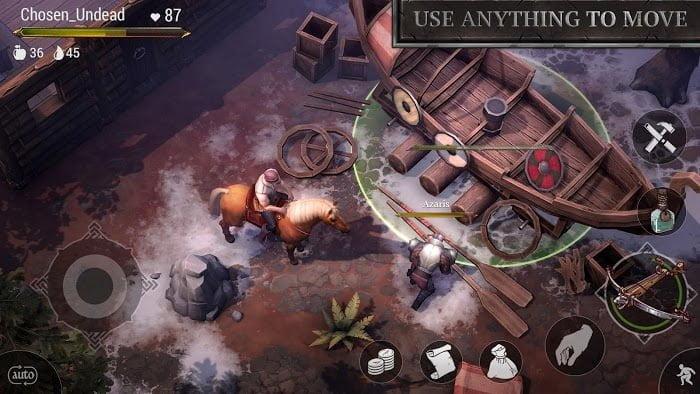 1595040003 759 Tai game Download Frostborn MOD APK v012226 Mo khoa for