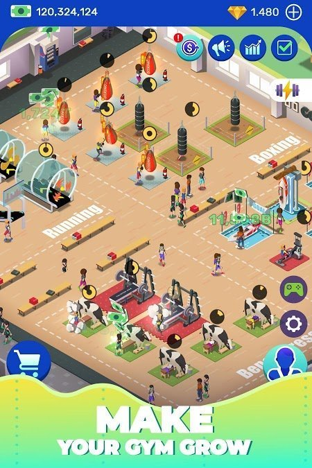 1595043006 240 Hack game Download Idle Fitness Gym Tycoon MOD APK v154