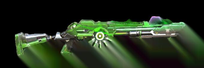 Da súng tốt nhất Free Fire m1014 xanh