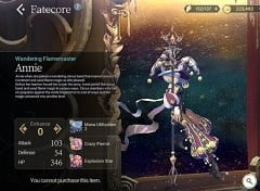 Exos Heroes Danh sách cấp bậc Toàn cầu 4 sao Fate Fate Core Legendary