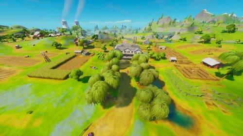 Các địa điểm loot tốt nhất trong Fortnite Mobile mùa 3, Các địa điểm hạ cánh tốt nhất trong Fortnite Mobile mùa 3, Frenzy Farm ở Fortnite