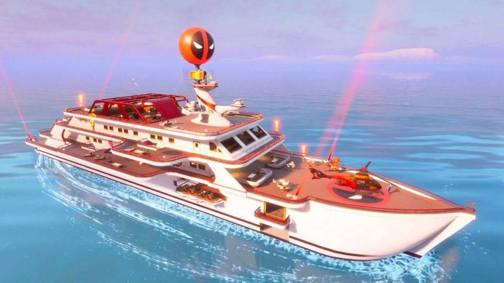 Các địa điểm loot tốt nhất trong Fortnite Mobile mùa 3, Các địa điểm hạ cánh tốt nhất trong Fortnite Mobile mùa 3, Du thuyền