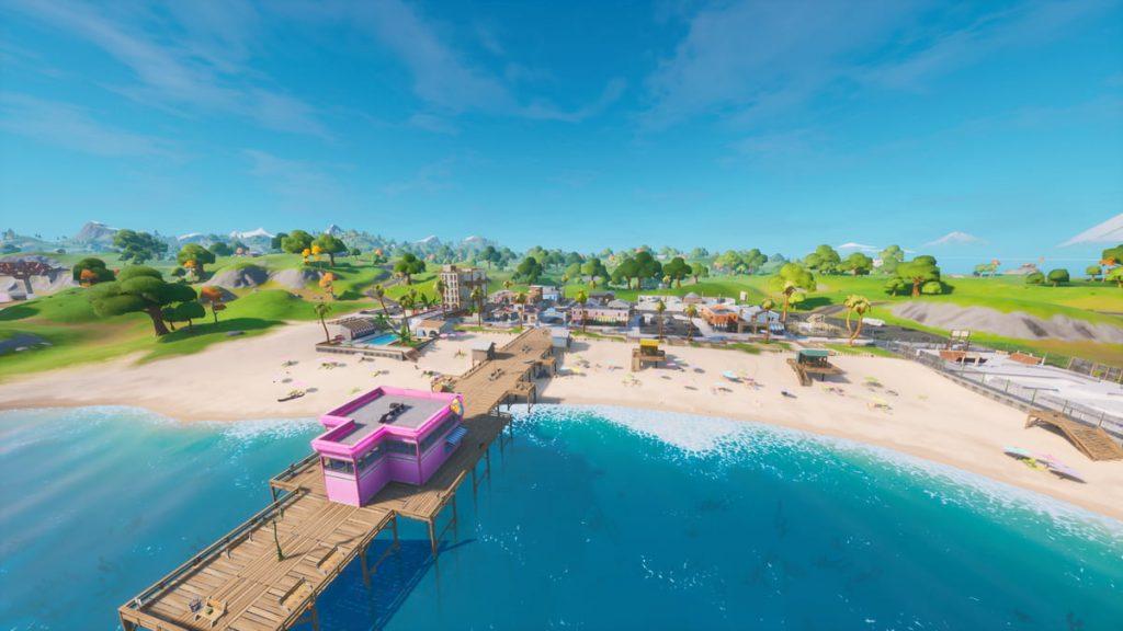 Các địa điểm loot tốt nhất trong Fortnite Mobile mùa 3, Các địa điểm hạ cánh tốt nhất trong Fortnite Mobile mùa 3, Sweaty Sands ở Fortnite
