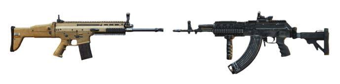 PUBG Mobile kết hợp súng tốt nhất miramar