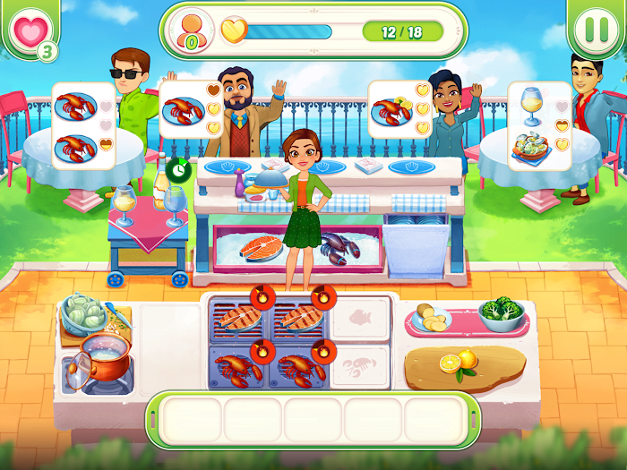 1595790603 544 Delicious World Romantic Cooking Game