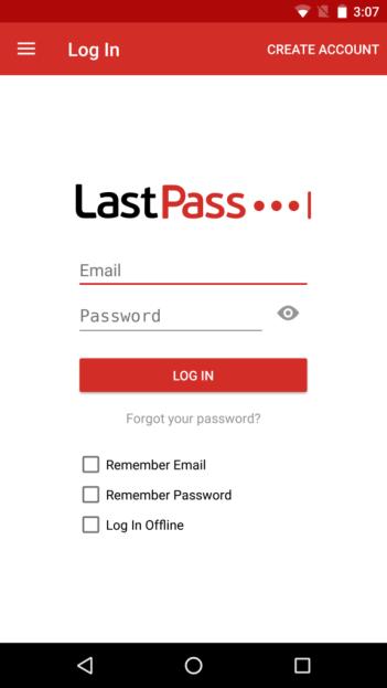 Ứng dụng di động Lastpass