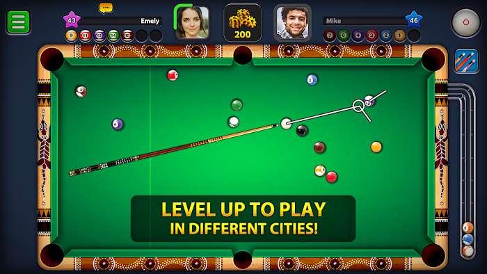 8 ball pool mod sightingline moddroid 1 3