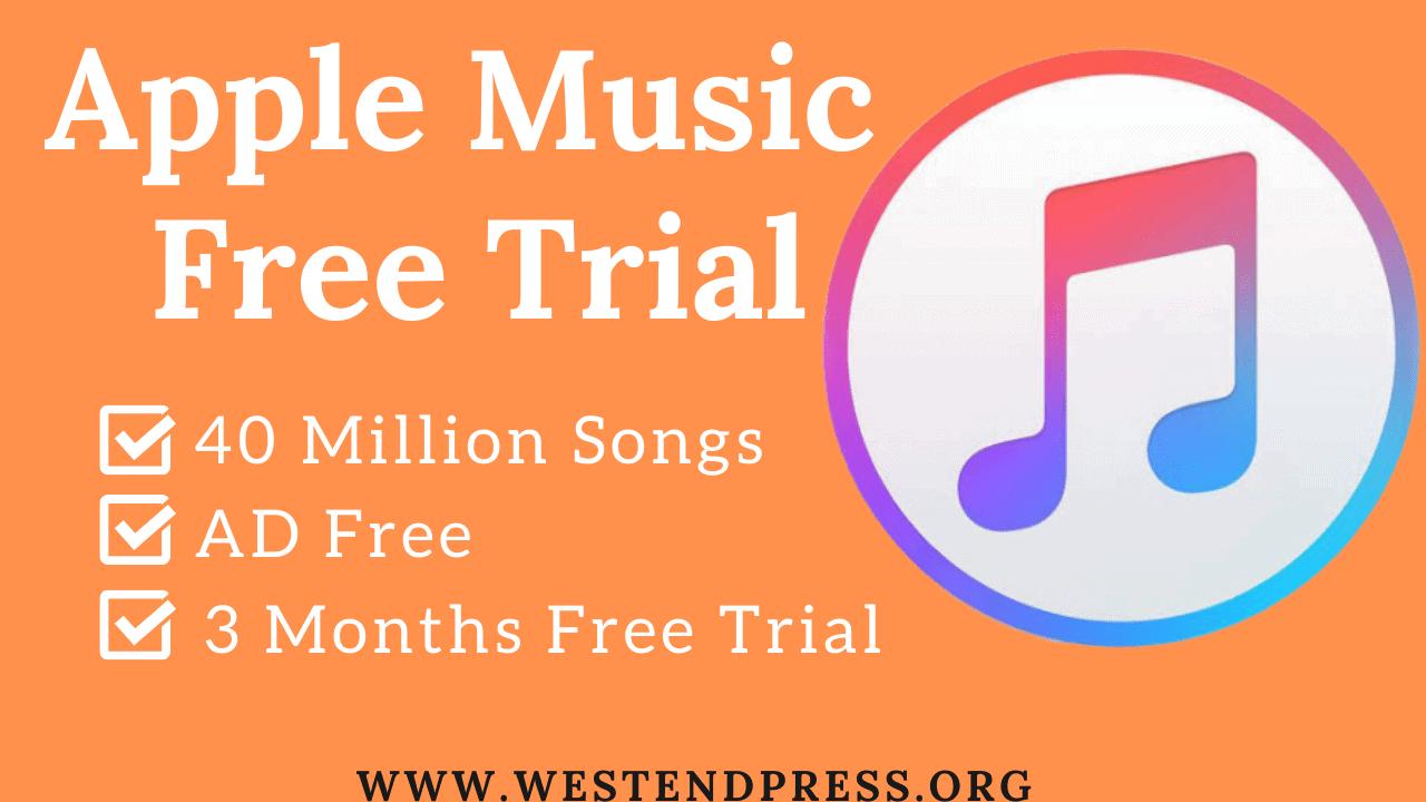 Apple-âm nhạc miễn phí dùng thử