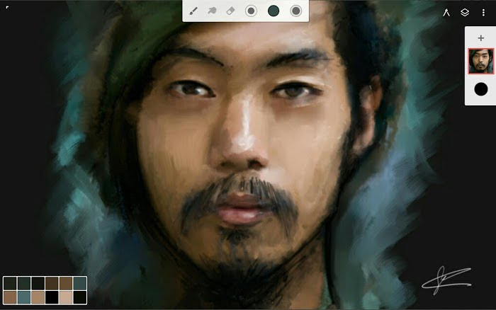 Crack Infinite Painter MOD Mo khoa Premium APK IOS