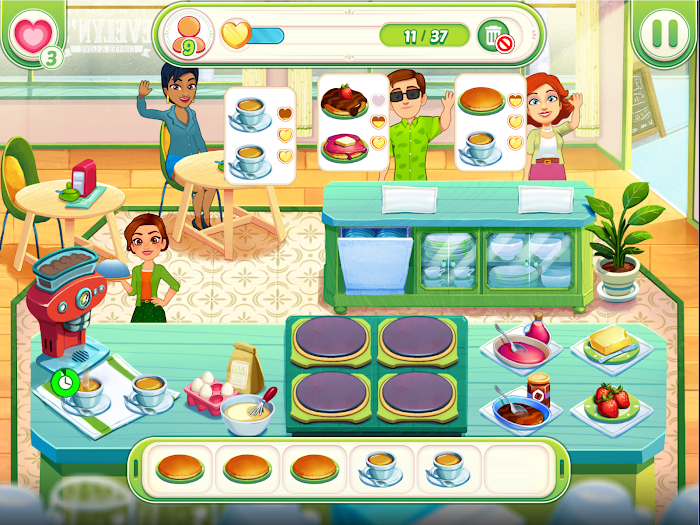 Delicious World Romantic Cooking Game