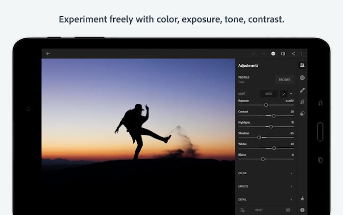 Download Adobe Lightroom CC MOD Premium Mo khoa Free