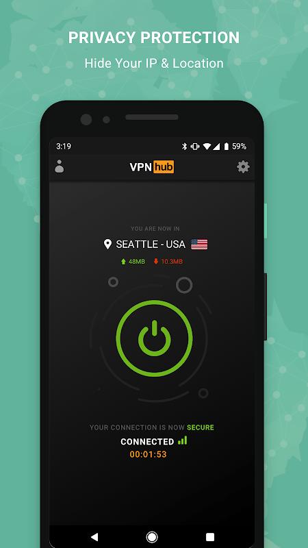 Download VPNhub MOD Premium Moi nhat
