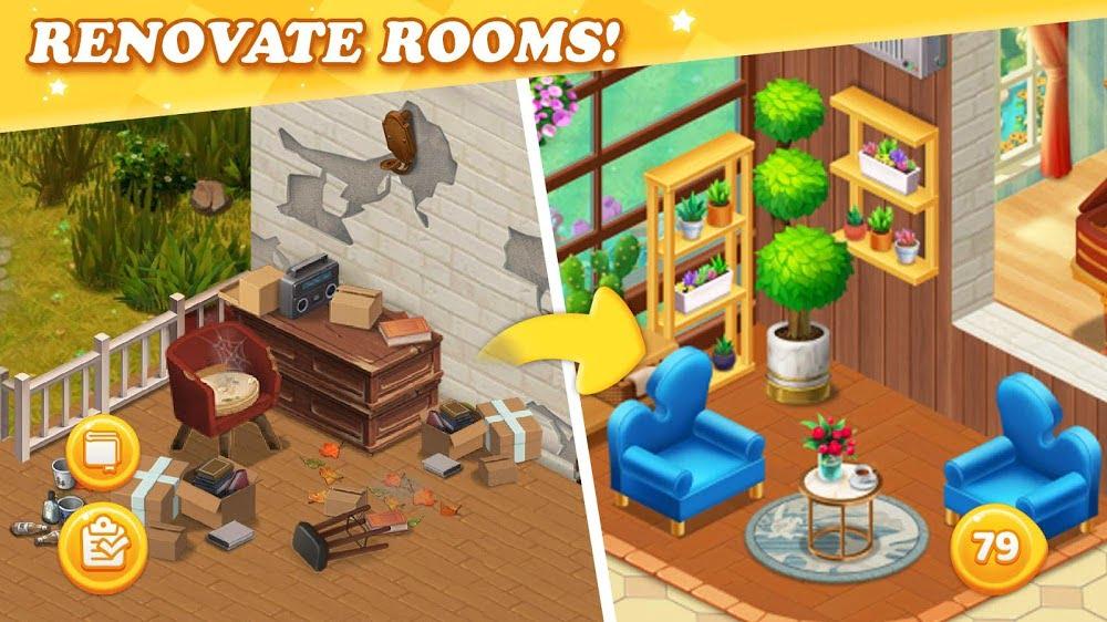 Dream Home Match Renovate Mansion