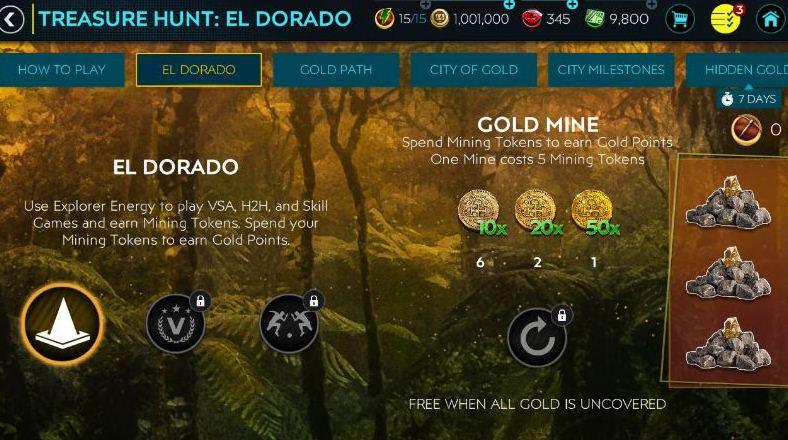 FIFA Mobile 20 Treasure Hunt El Dorado Guide