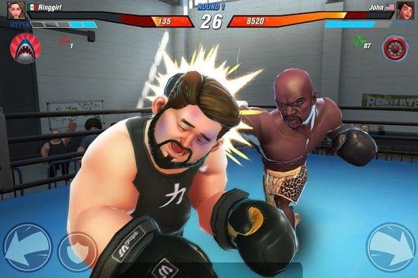 Hack Boxing Stars MOD DamageGod Mode Tieng viet