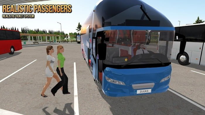 Hack Bus Simulator Ultimate MOD APK IOS Mien phi